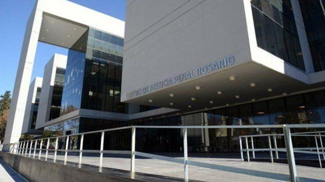 El Centro de Justicia Penal de Rosario.