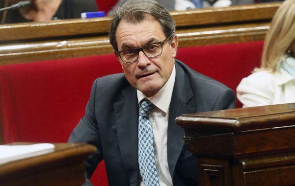 El presidente de Cataluña