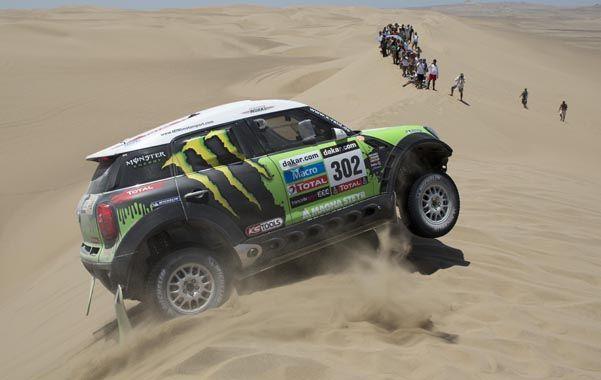 No hay otro como él. Stephane Peterhansel ganó 11 veces en Dakar.