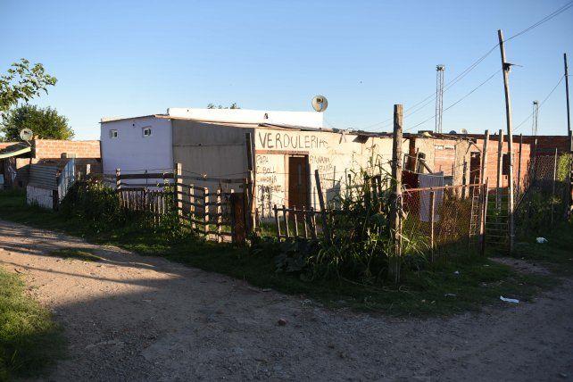 El lugar donde los hermanos Leguizamón fueron a buscar a Chicho Candia y lo mataron.