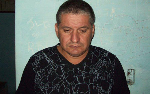 Preso. Sergio  Rodríguez fue detenido en 2012 como uno de los sospechosos del triple crimen de villa Moreno.