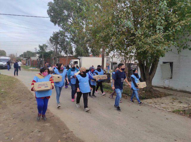 La Provincia entregó más de 25 mil módulos alimentarios en Santa Fe y Rosario