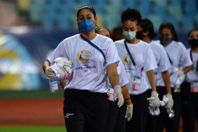 Conmebol informó la baja tasa de contagios de coronavirus en la Copa América