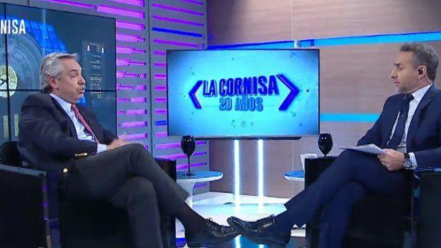 Alberto Fernández: Los que me votan me piden que no gobierne como Macri
