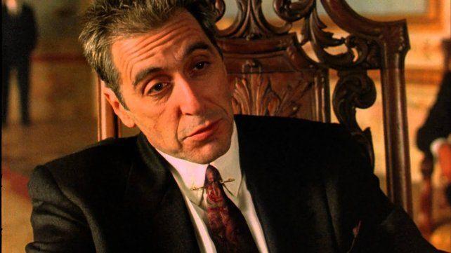 Al Pacino interpreta a Don Michael Corleone en el último filme de la saga