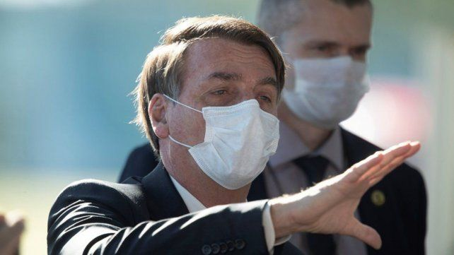 Jair Bolsonaro acusó a los dueños de la cadena televisiva de lavar dinero.