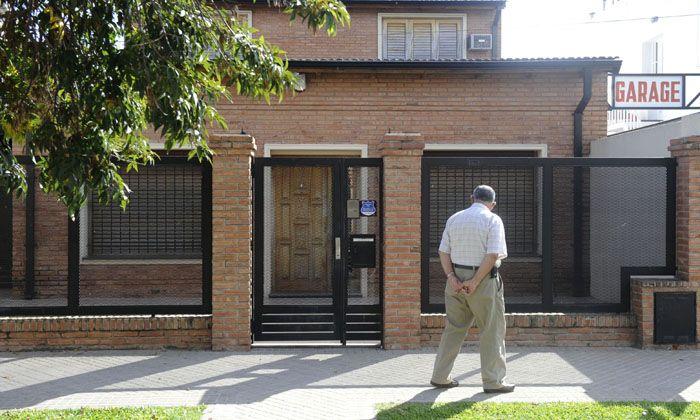 Balean el frente de la casa del hermano de Lionel Messi en la zona sur de Rosario