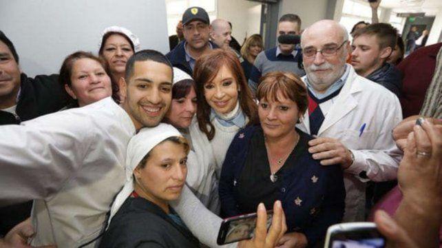 Selfie. Cristina Kirchner