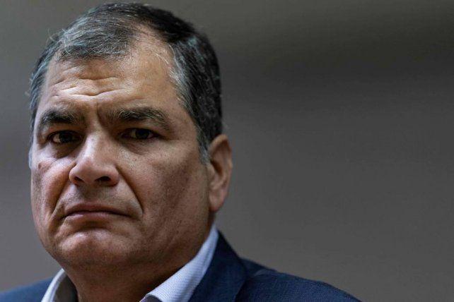 El polémico ex presidente de Ecuador