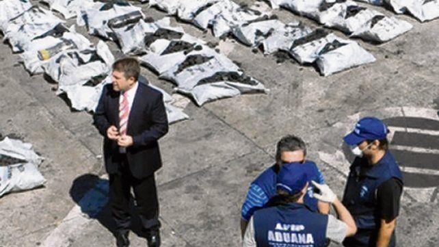 Buenos Aires. Una carga fue detectada antes de ser embarcada a Europa.