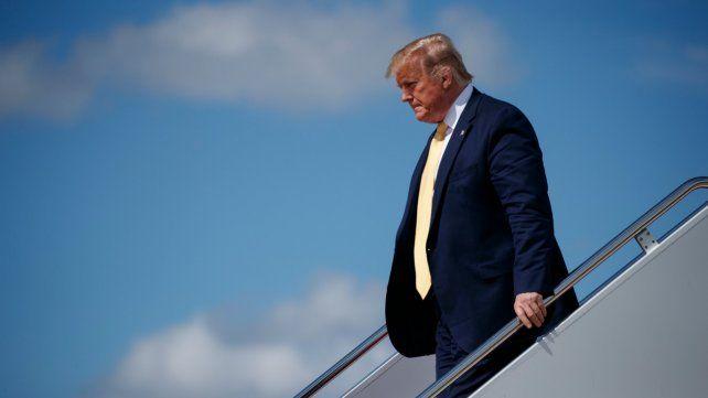 ¿Solo? El plan de Trump debería lograr el respaldo árabe para tener algún margen de éxito.