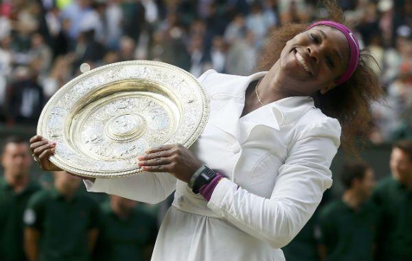 La tenista norteamericana Serena Williams se quedó por quinta vez con el título del abierto de Wimbledon.