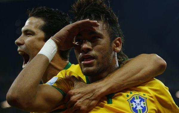 Un debut soñado para el brasileño Neymar en el mundial
