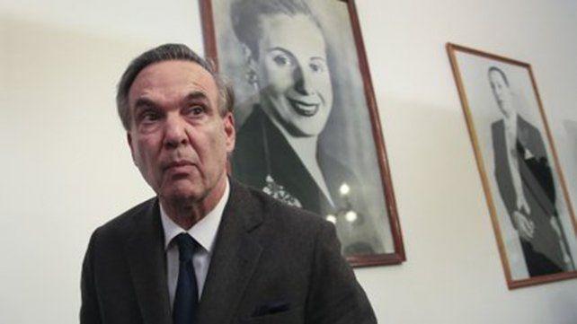 El titular del bloque de senadores peronistas