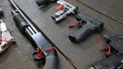 Seiscientas armas y 10 mil balas salen de circulación en Santa Fe gracias a Plan de Desarme
