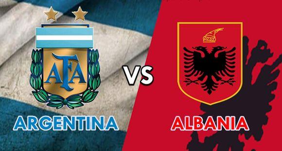 Argentina fue justo ganador ante una Albania que poco pudo hacer