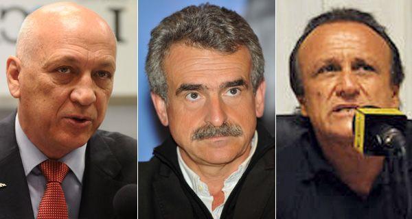 Rossi, Bonfatti y Del Sel exponen sus propuestas de gobierno en debate abierto