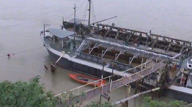 Un mecánico de barcos murió ahogado al caer al río Paraná en Granadero Baigorria