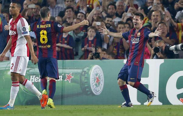 Lio marcó un gol y dio una asistencia en la victoria de Barcelona