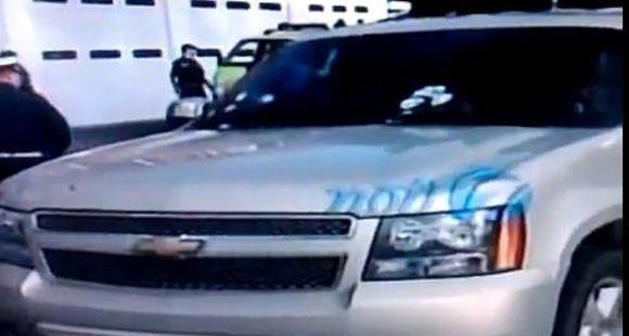 Así quedó el auto en el que viajaba Facundo Cabral cuando fue baleado (video)