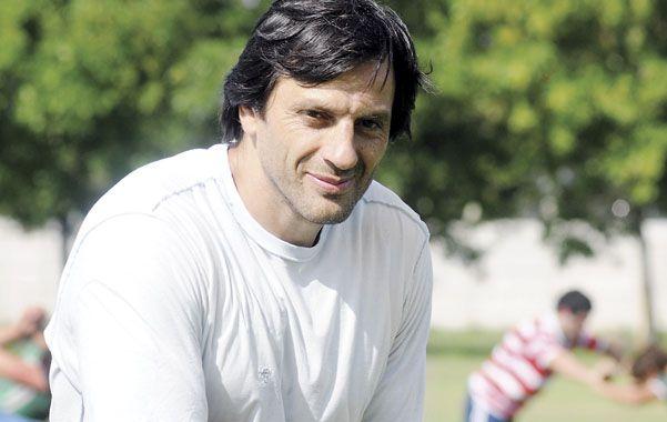 El ex segunda línea Raúl Pérez. (Foto: F. Guillén)