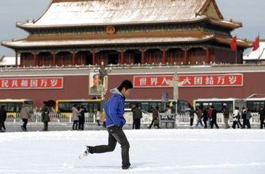 China provoca nevadas artificiales sobre Pekín para aliviar la sequía