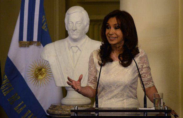 La expresidenta de la Nación