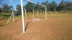 Este fin de semana le robaron el alambrado perimetral a la cancha de fútbol que el club El Quillá tiene en las instalaciones del Automóvil Club Argentino.