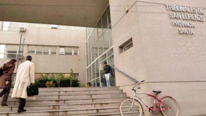 La audiencia se llevó a cabo en los Tribunales de San Lorenzo.