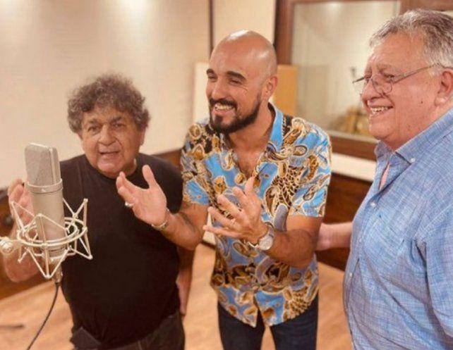 Abel Pintos publicó una foto con Cacho Deicas y Marcos Camino