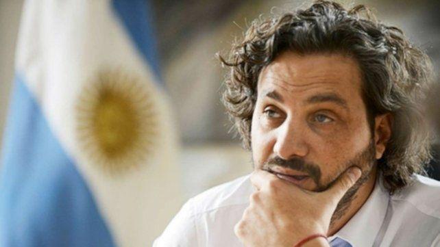 Santiago Cafiero. Jefe de Gabinete del gobierno nacional.