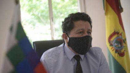 El cónsul Carlos Chanone Salvatierra le dio el detalle del escrutinio en Rosario a La Capital.