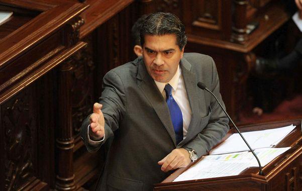 Sin pausa. Capitanich repasó las políticas del gobierno y respondió preguntas envenenadas de la oposición.