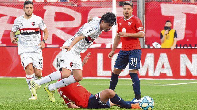 Serán compañeros. Sebastián Palacios enfrentó a Newells y a Formica en este torneo. Ahora jugarán juntos.
