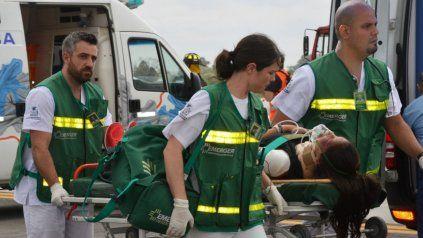 Cuando los cuadros son urgentes se envían ambulancias.