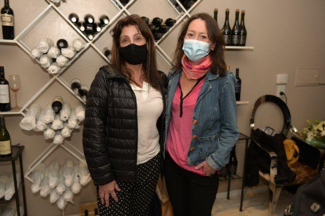 Patricia Cosgrove y Eileen Schmidt.