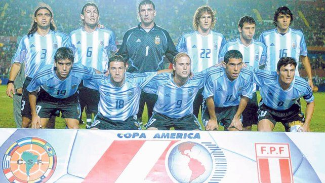 Copa América 2004. Con mucha presencia rosarina