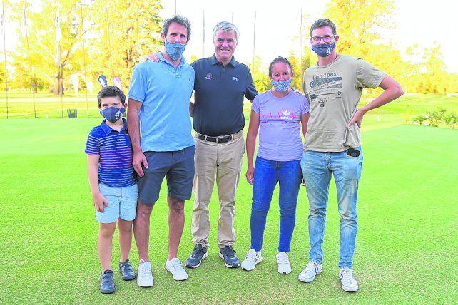 1er. Torneo solidario en el Rosario Golf