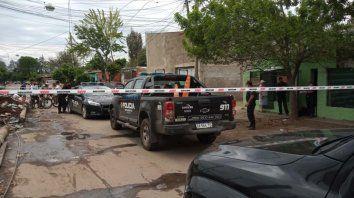 La zona de Cullen al 3400, donde se produjo el cuarto asesinato en las últimas 12 horas en Rosario.