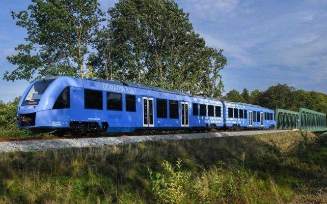 El tren de hidrógeno ya una realidad. El primer tren de pasajeros con pilas de combustible de hidrógeno da sus primeros pasos en otros países