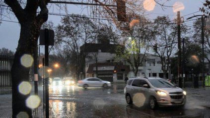 El tiempo en Rosario: miércoles pasado por agua que anuncia el regreso de un nuevo frente frío