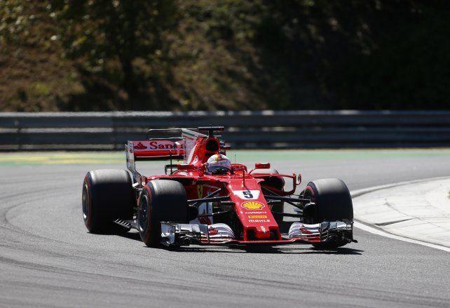 Vettel firma la pole para el Gran Premio de Hungría de Fórmula Uno