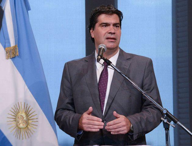 Capitanich defendió la difusión en la cuenta oficial de Twitter de la  Casa Rosada del cupón de vuelo de Pachter.