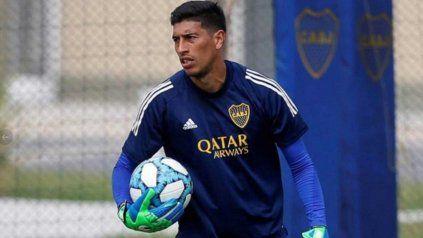 Andrada es contacto estrecho de un positivo y no estará en el debut de Boca en la Libertadores