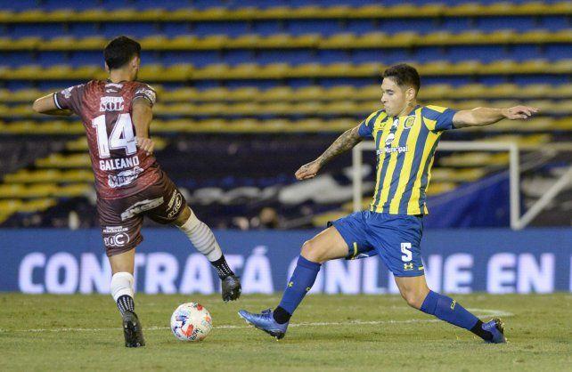 El juvenil volante Rodrigo Villagra es una pieza clave en la estructura táctica de Central.