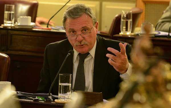 Mario Lacava manifestó la preocupación del PJ por la seguridad en la provincia.