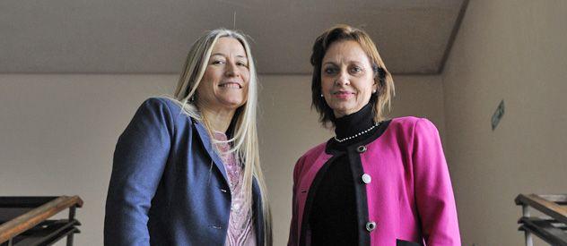 Silvia Tróccoli y María Silvia Villaverde