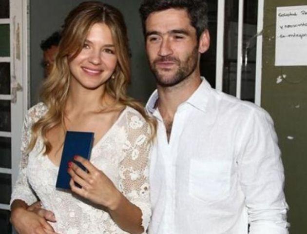 Marcela Kloosterboer se casó con su novio Fernando Sieling