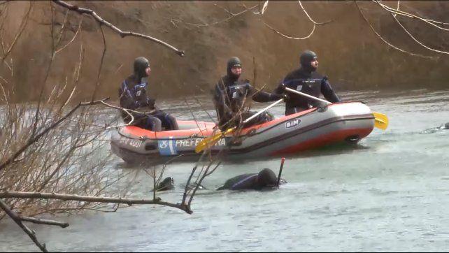 Un bombero que rastrilló el río Chubut dijo cuál fue la clave para encontrar el cuerpo