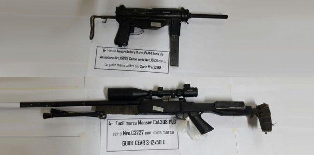 La policía detuvo en Rosario a una subcomisario con armas ilegales en su poder
